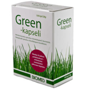 biomed green kapseli