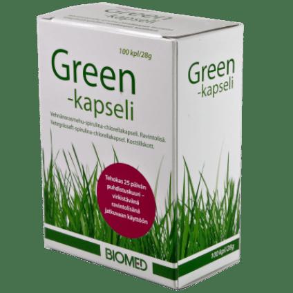 biomed green kapseli